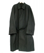 YS for men(ワイズフォーメン)の古着「ステンカラーコート」|ブラック