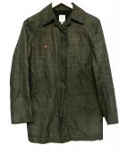 SCYE(サイ)の古着「リネンコットンコート」|ブラウン