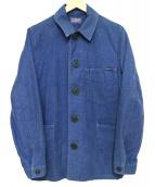BLUE BLUE(ブルーブルー)の古着「カバーオール」 インディゴ