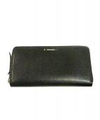 TIFFANY & Co.(ティファニーアンドコー)の古着「ラウンドジップ財布」|ブラック