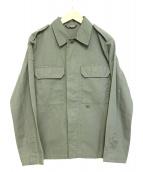 A.P.C.(アーペーセー)の古着「ミリタリージャケット」|グレー