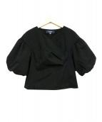 MS GRACY(エムズグレイシー)の古着「ブラウス」|ブラック