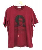 UNDERCOVER(アンダーカバー)の古着「プリントTシャツ」|レッドパープル