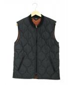A.P.C.(アーベーセ)の古着「キルティング中綿ベスト」|グレー