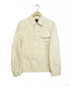 BRU NA BOINNE(ブルーナボイン)の古着「ワークジャケット」|ベージュ