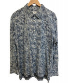 LANVIN en Bleu(ランバンオンブル)の古着「L/Sシャツ」|ネイビー