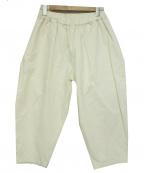オローネ(オローネ)の古着「バルーンパンツ」|ホワイト