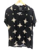 RUDE GALLERY(ルードギャラリ)の古着「レーヨンアロハシャツ」|ブラック