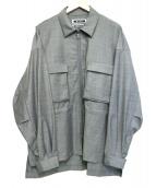 KIIT(キート)の古着「ジャケット」|グレー