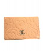 CHANEL(シャネル)の古着「3つ折り財布」|ピンク