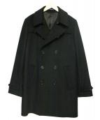 PS Paul Smith(ピーエスポールスミス)の古着「ウールカシミヤトレンチコート」|ブラック