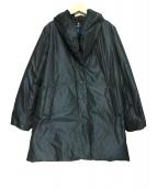 LANVIN COLLECTION(ランバン コレクション)の古着「ショールカラーダウンコート」|ネイビー