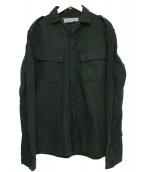 non type(ノンタイプ)の古着「ミリタリーシャツ」|ブラック