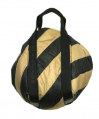 SONIA RYKIEL(ソニア リキエル)の古着「中綿ハンドバッグ」|ブラウン×ブラック