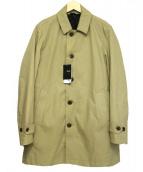 SHIPS(シップス)の古着「ダウンライナーステンカラーコート」|ベージュ