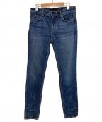 ALEXANDER WANG(アレキサンダーワン)の古着「デニムパンツ」 ブルー
