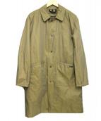 LAVENHAM(ラベンハム)の古着「ライナー付ステンカラーコート」 ベージュ
