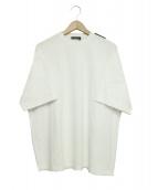 BALENCIAGA(バレンシアガ)の古着「Tab Regular T-shirt」|ホワイト