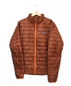 Patagonia(パタゴニア)の古着「Nano Puff Jacket」 レッド