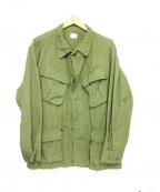 US ARMY(ユーエスアーミー)の古着「ジャングルファティーグジャケット」 カーキ