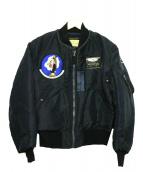 Buzz Ricksons(バズリクソンズ)の古着「フライトジャケット」|ネイビー