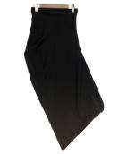 robe de chambre COMME des GARCONS(ローブドシャンブルコムデギャルソン)の古着「変形スカート」 ブラック