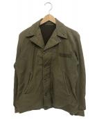 US NAVY(ユーエスネイビー)の古着「1940s Vintage N-4 Jacket」|カーキ