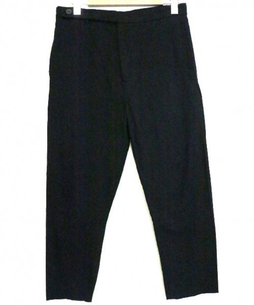 non type(ノンタイプ)non type (ノンタイプ) リネンコットンクラシックパンツ ブラック サイズ:Sの古着・服飾アイテム