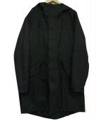 OGAWA CAMPAL(オガワキャンパル)の古着「フーデッドコート」|ブラック