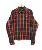 UNDERCOVER(アンダーカバー)の古着「クリィミーマミ チェックシャツ」|レッド×ブラック