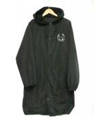 UNDERCOVER(アンダーカバー)の古着「フード付OPロングコーチJKT」|ブラック