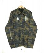 UNDERCOVER(アンダーカバー)の古着「クリィミーマミカモフラコーチJKT」|ブラウン