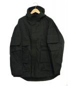 UNDERCOVER(アンダーカバー)の古着「マウンテンパーカー LARMS」|ブラック