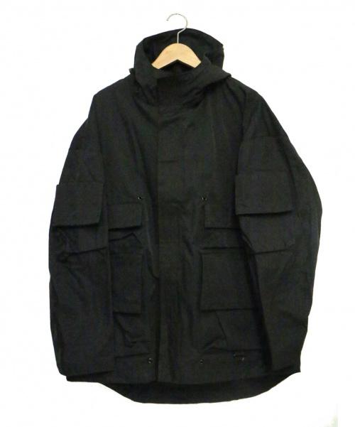 UNDERCOVER(アンダーカバー)UNDERCOVER (アンダーカバー) マウンテンパーカー LARMS ブラック サイズ:3 未使用品 UCW4202-2 定価74,000円+税の古着・服飾アイテム