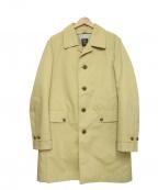 TAKEO KIKUCHI(タケオキクチ)の古着「ライナーステンカラーコート」 ベージュ