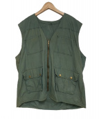 USED(ユーズド)の古着「[OLD] MILITALY VEST」|カーキ