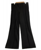 VINTAGE(ヴィンテージ/ビンテ-ジ)の古着「[VNTG]ウールセーラーパンツ」|ネイビー