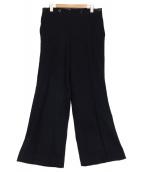 VINTAGE(ヴィンテージ/ビンテ-ジ)の古着「[VNTG]ウールセーラーパンツ」|ブラック
