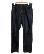 UNUSED(アンユーズド)の古着「リジットデニムパンツ」|インディゴ