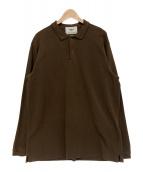 YAECA PARK(ヤエカパーク)の古着「ポロシャツ」|ブラウン