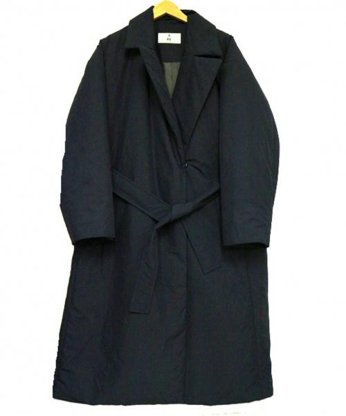 Curensology(カレンソロジー)Curensology (カレンソロジー) シンダウンロングコート ブラック サイズ:F 定価65.000円+税の古着・服飾アイテム