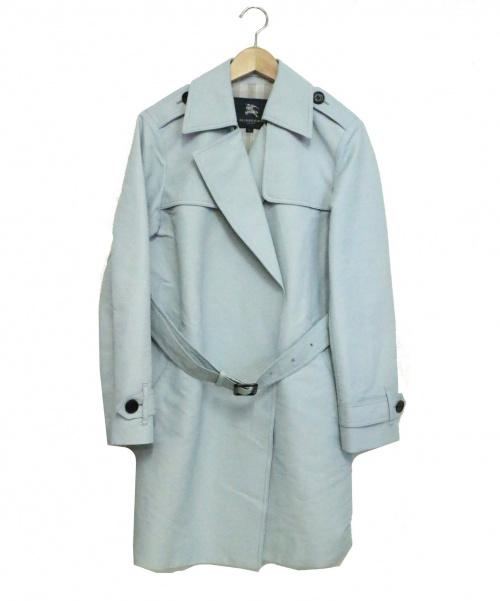 BURBERRY LONDON(バーバリーロンドン)BURBERRY LONDON (バーバリーロンドン) トレンチコート ブルー サイズ:38の古着・服飾アイテム