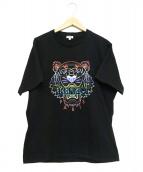 KENZO(ケンゾー)の古着「グラデーションタイガーTシャツ」|ブラック