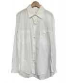 YS for men(ワイズフォーメン)の古着「ダブルポケットシャツ」 ホワイト