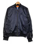 adidas originals(アディダスオリジナルス)の古着「MA-1 SST JACKET」|ネイビー