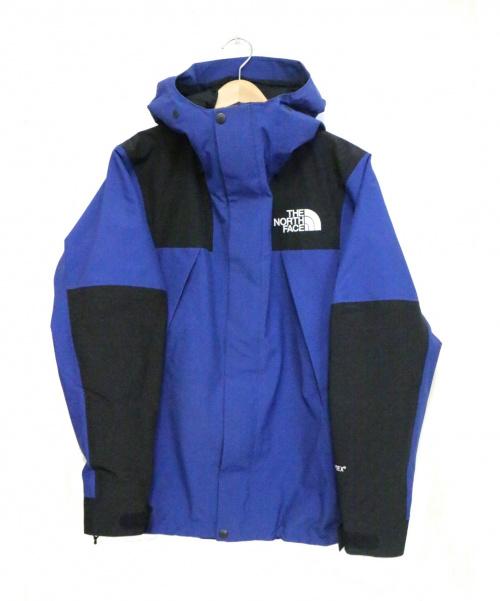 THE NORTH FACE(ザノースフェイス)THE NORTH FACE (ザノースフェイス) マウンテンジャケット/MOUNTAIN JACKET ブルー×ブラック サイズ:S  NP61800 定価55,000円の古着・服飾アイテム