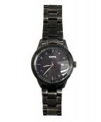 SOPH.(ソフ)の古着「スターダイヤル腕時計」 ブラック