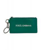 DOLCE & GABBANA(ドルチェアンドガッバーナ)の古着「カードケース」|グリーン