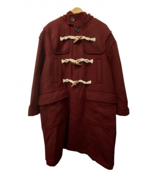 UNDERCOVER(アンダーカバー)UNDERCOVER (アンダーカバー) ライトメルトンBIGダッフルコート ボルドー サイズ:2 UCV4301 定価132.000円の古着・服飾アイテム