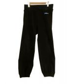 UNDERCOVER(アンダーカバー)の古着「フリースHAL9000パンツ」|ブラック